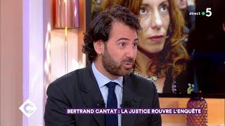Bertrand Cantat : la justice rouvre l'enquête - C à Vous - 05/06/2018