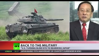 'US is ok with Japan's rearming, danger to whole region'