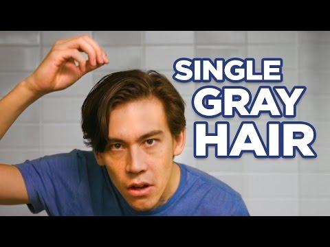 Чем закрашивать седой волос