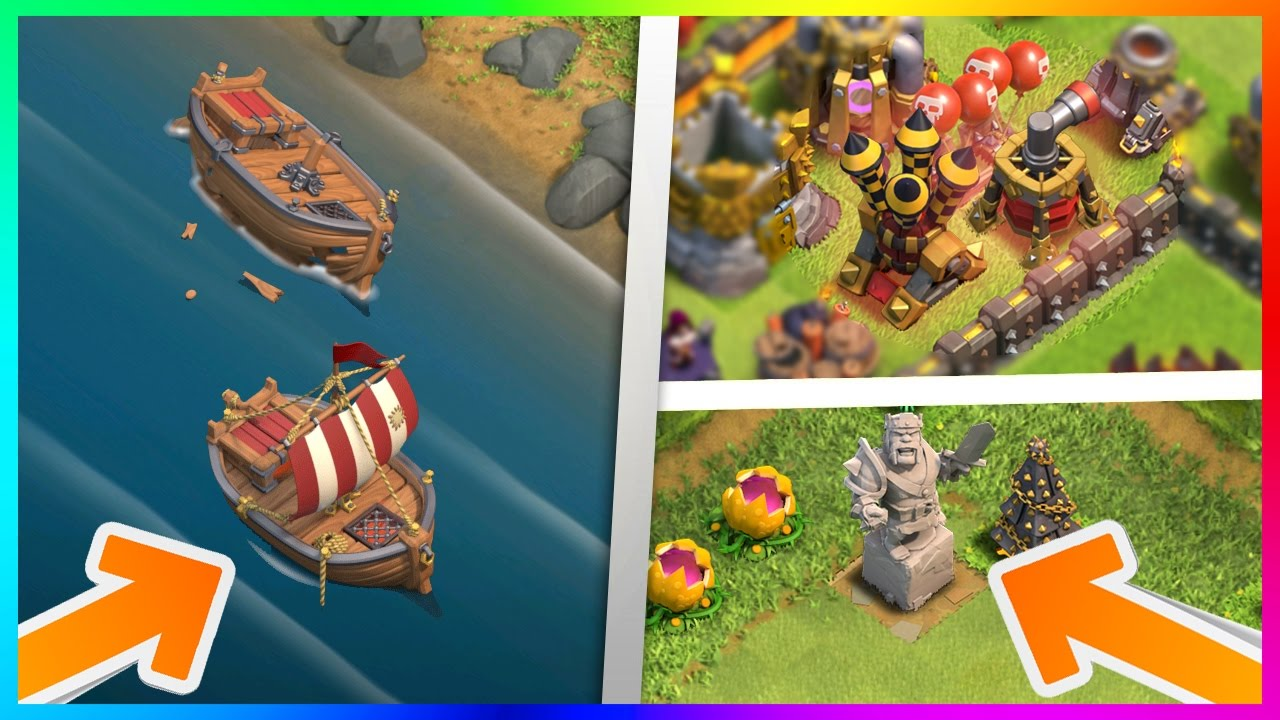 Clash of Clans' year-end update to introduce naval batt