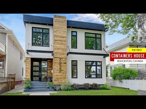 Shipping Container Home in Edmonton, Canada by Copperblock Capital