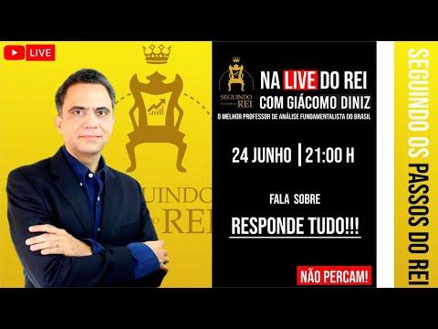 Download NA live do rei , professor GIACOMO DINIZ responde todas as perguntas sobre analise fundamentalista
