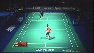 Download Video swiss open badminton 2012 Semi Final Jin Chen vs Taufik Hidayat Swiss Open Badminton 2012 MP3 3GP MP4