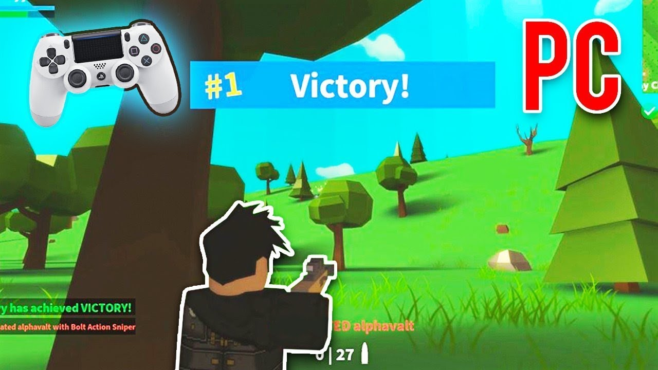 Playing Roblox Fortnite With A Controller Youtube