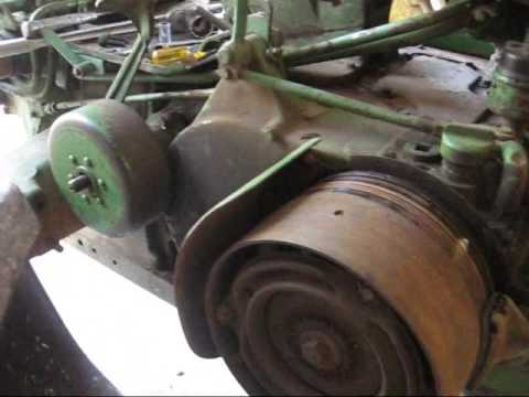 JOHN DEERE 2 cyl Tractor Brake Job part 1  YouTube
