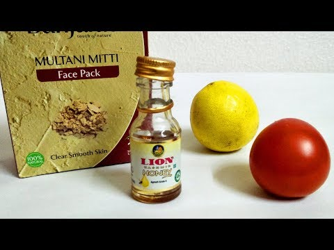 MultaniMitti LEMON FACE PACK Clear SMOOTH SKIN That Will Change YOUR Life Forever- Beauty Life Hacks