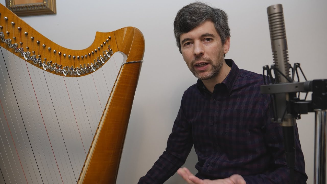 How to play lever harp in an orchestra - Harp Tuesday ep  125