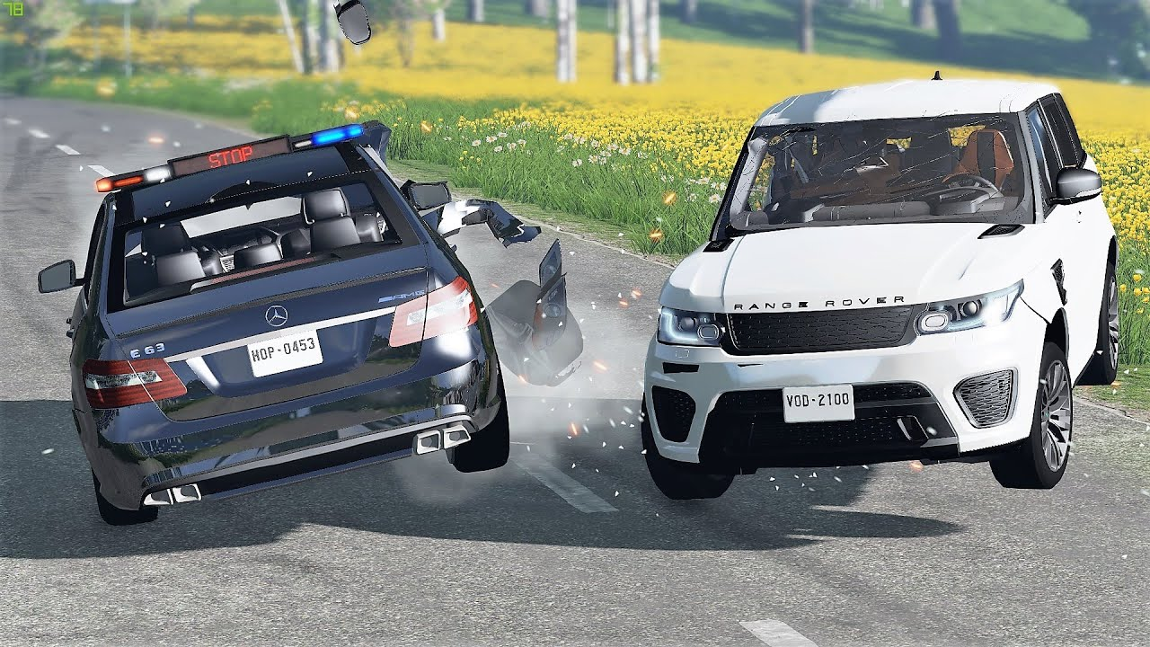 Police Interceptors Chases & Crashes #69 - BeamNG Drive | CRASHdriven