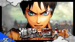 ●ATTACK ON TITAN | TGS 2015 Gameplay Trailer!【PS4/PS3】【1080p 60FPS】●