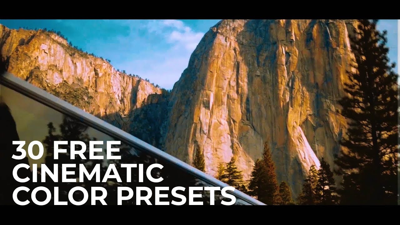 30 Free Cinematic Color Presets for Premiere Pro on Behance