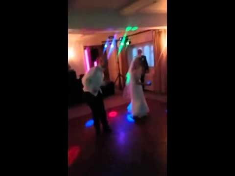 Peter and Gemma Wedding First Dance to MC Hammer U Can't Touch This