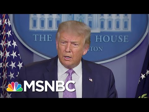 Trump Repeatedly Insists COVID-19 Will 'Disappear' | The 11th Hour | MSNBC