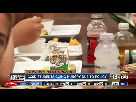 UPDATE: Clark County School District releases statement on student meal charges