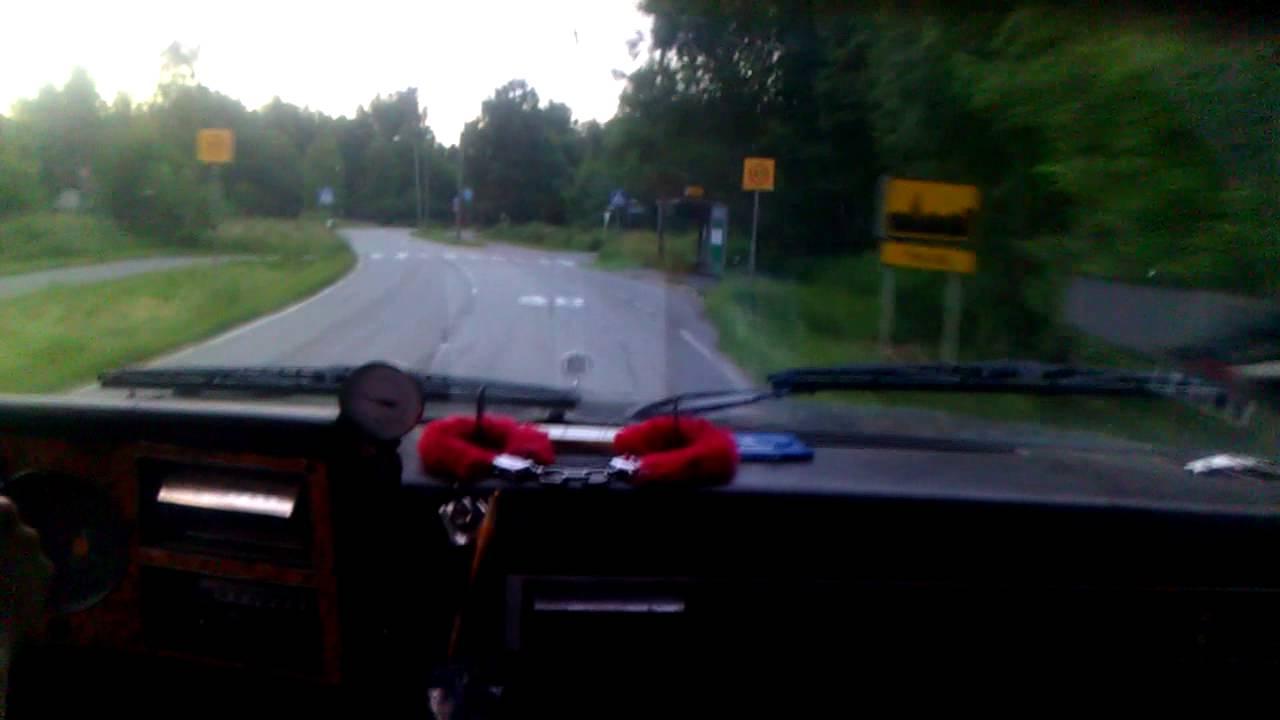 Driving around '86 K10 Chevy 6 2D SM465