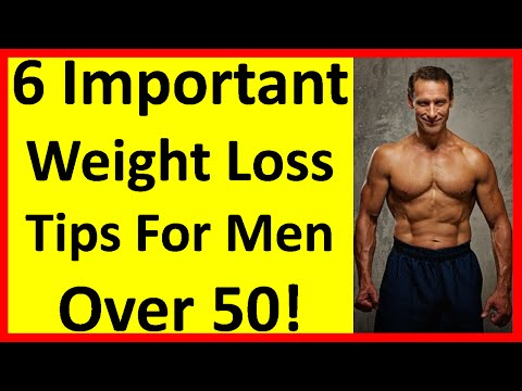 6 Important Weight Loss Tips For Men Over 50! | Men Over 40