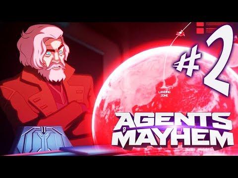 Agents of Mayhem - Parte 2: Hammersmith e o Cometa do Caos! [ PC - Playthrough ]