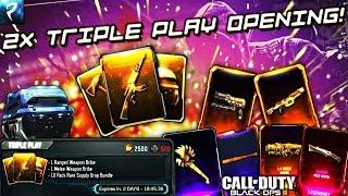 4 WEAPON BRIBES! - Triple Play Bundle Supply Drop Opening - Black Ops 3