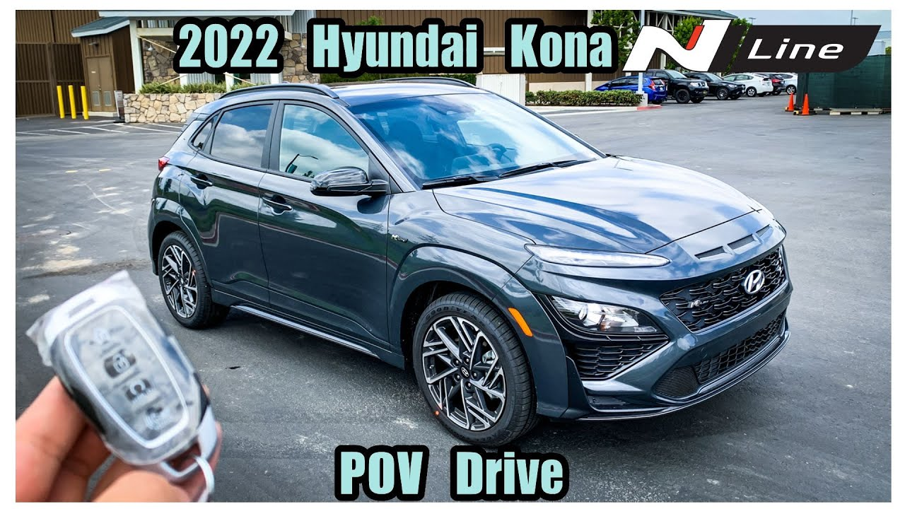 2022 Hyundai Kona N LINE 1.6T POV Test Drive