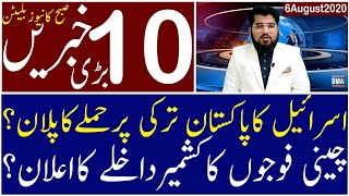 Top 10 with GNM | Morning | 6 August 2020 | Today's Top Latest Updates by Ghulam Nabi Madni |