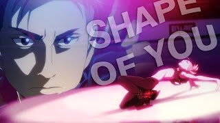 shape of you   yuri on ice