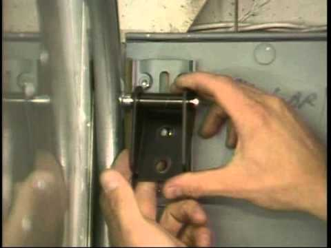 Whiting Door Premium Roll-Up Door Top Panel Adjustment & Whiting Door Premium Roll-Up Door Top Panel Adjustment - YouTube