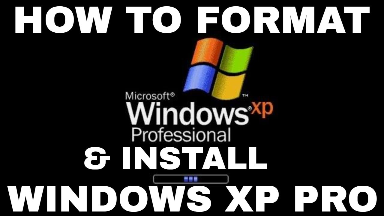 How to format the c drive on a windows xp sp2: 8 steps.