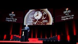 Constant Escapement L.M. wins the «Aiguille d'Or» at the Grand Prix d'Horlogerie, Geneva