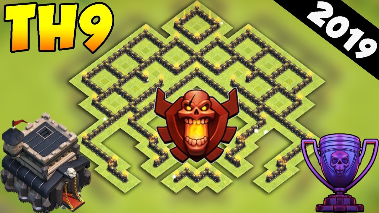 Th9 Best Defence Base 2019 2