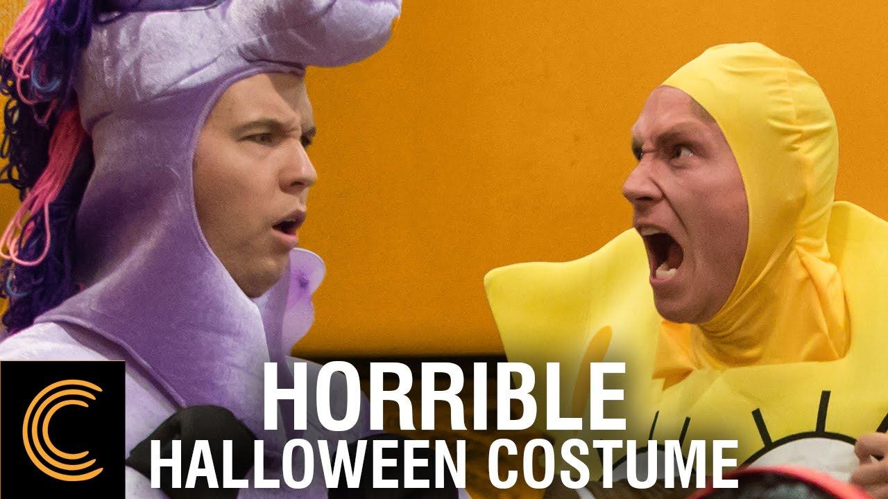 Horrible Roommate Halloween Costume - YouTube