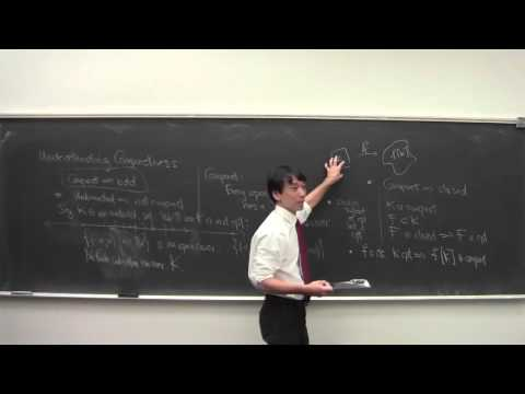 Math 101 Introduction to Analysis 113015: Compact Sets, ct'd