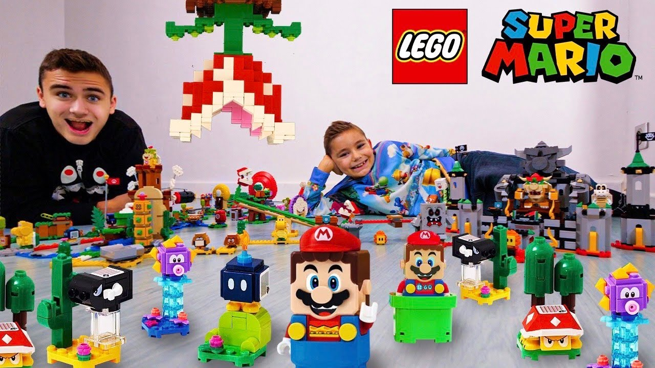 Download ON CONSTRUIT TOUS LES LEGO SUPER MARIO - MARIO IN REAL LIFE !