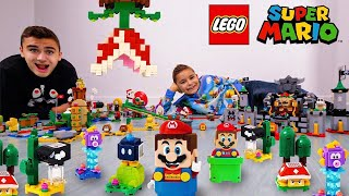 ON CONSTRUIT TOUS LES LEGO SUPER MARIO - MARIO IN REAL LIFE !