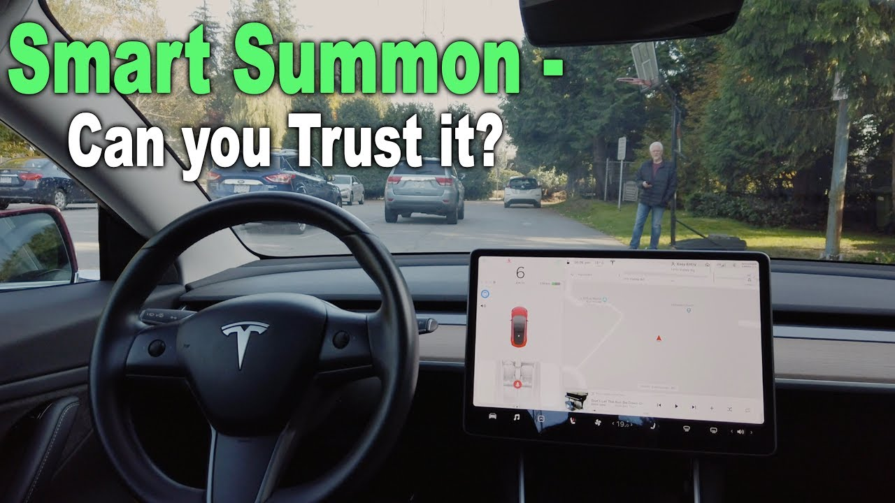 Tesla Smart Summon  - Can You Trust It? Should You?
