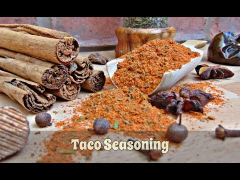How To Make Taco Seasoning - Add Fab Flavours To Your Homemade Tacos | #113