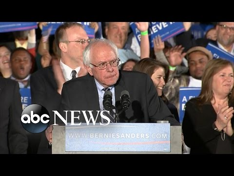 Bernie Sanders' FULL Victory Speech After  New Hampshire Primary