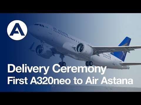 Highlights: First A320neo delivery to Air Astana