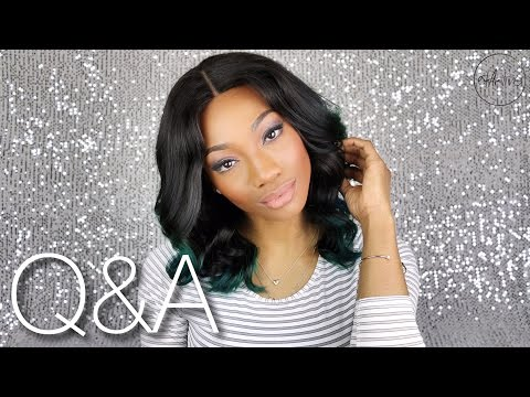 WIGS, HUSBAND, LIFE AS A YOUNG MUM, YouTuber & Model | Your Questions Answered