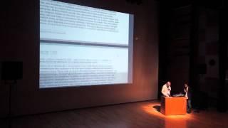 Prof. David Rosenboom lecture at Kunitachi College of Music