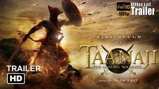 Taanaji : The Unsung Warrior Official Trailer Ajay Devgan Full Hd 2019 Upcoming Bollywood film