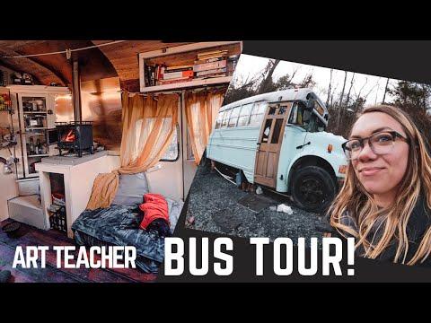 Skoolie Bus Tour!