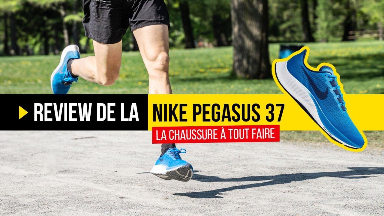 Test Nike Pegasus 37 : La chaussure running classique... presque totalement réinventée !