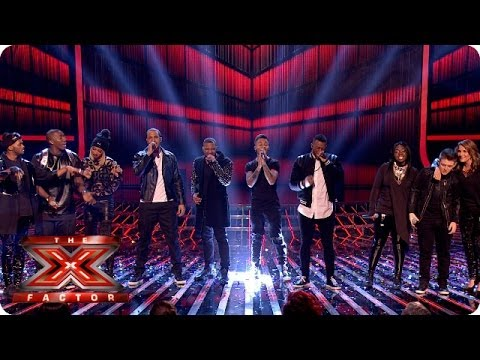 The Final 6 sing Everybody In Love with JLS   Week 7  The X Factor 2013