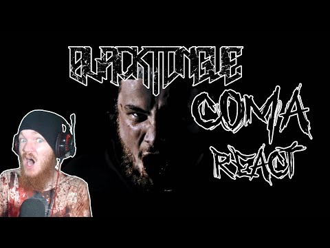 Black Tongue - Coma (Official Music Video) REACT!