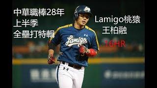 王柏融 中華職棒28年上半季 全壘打特輯(16HR)