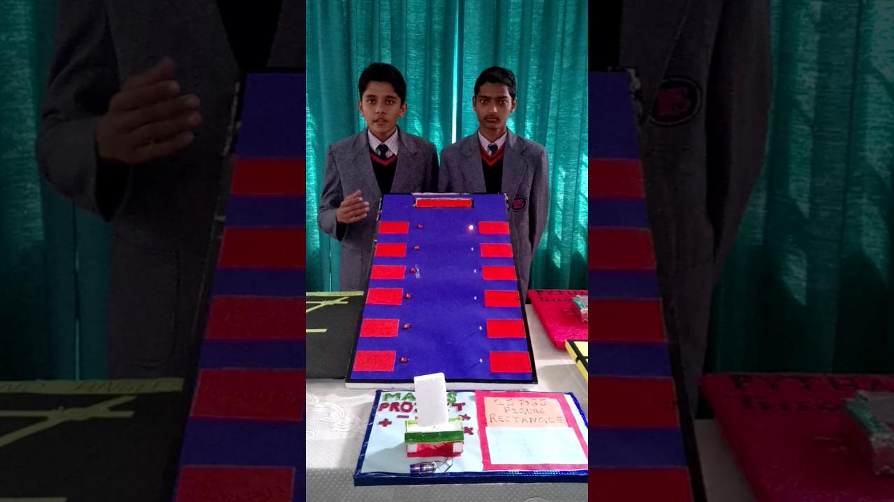 Best Maths working model for class 8 Ips ganganagar