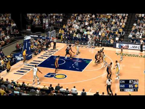 NBA 2K17 Expansion Franchise Season 1 Cincinnati Lions Game22 #Indiana Pacers