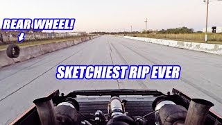 We Blew The Wheel OFF Our 800HP S10 During A Full Rip! (This Could Have Ended Badly)