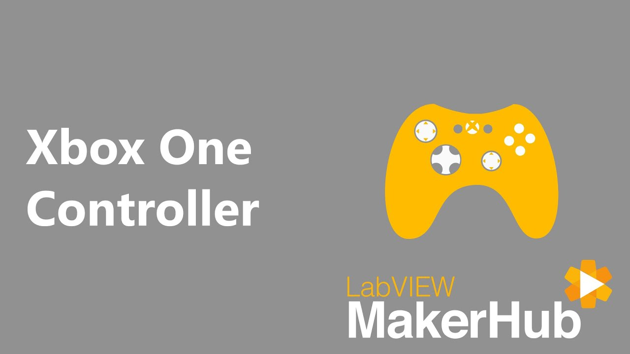 Xbox One Controller [LabVIEW MakerHub]