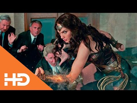 Спасение Заложников Чудо Женщиной ★ Лига Справедливости (2017)