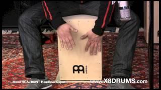 Meinl Headliner Birch Cajon Drum HCAJ100NT - X8 Drums
